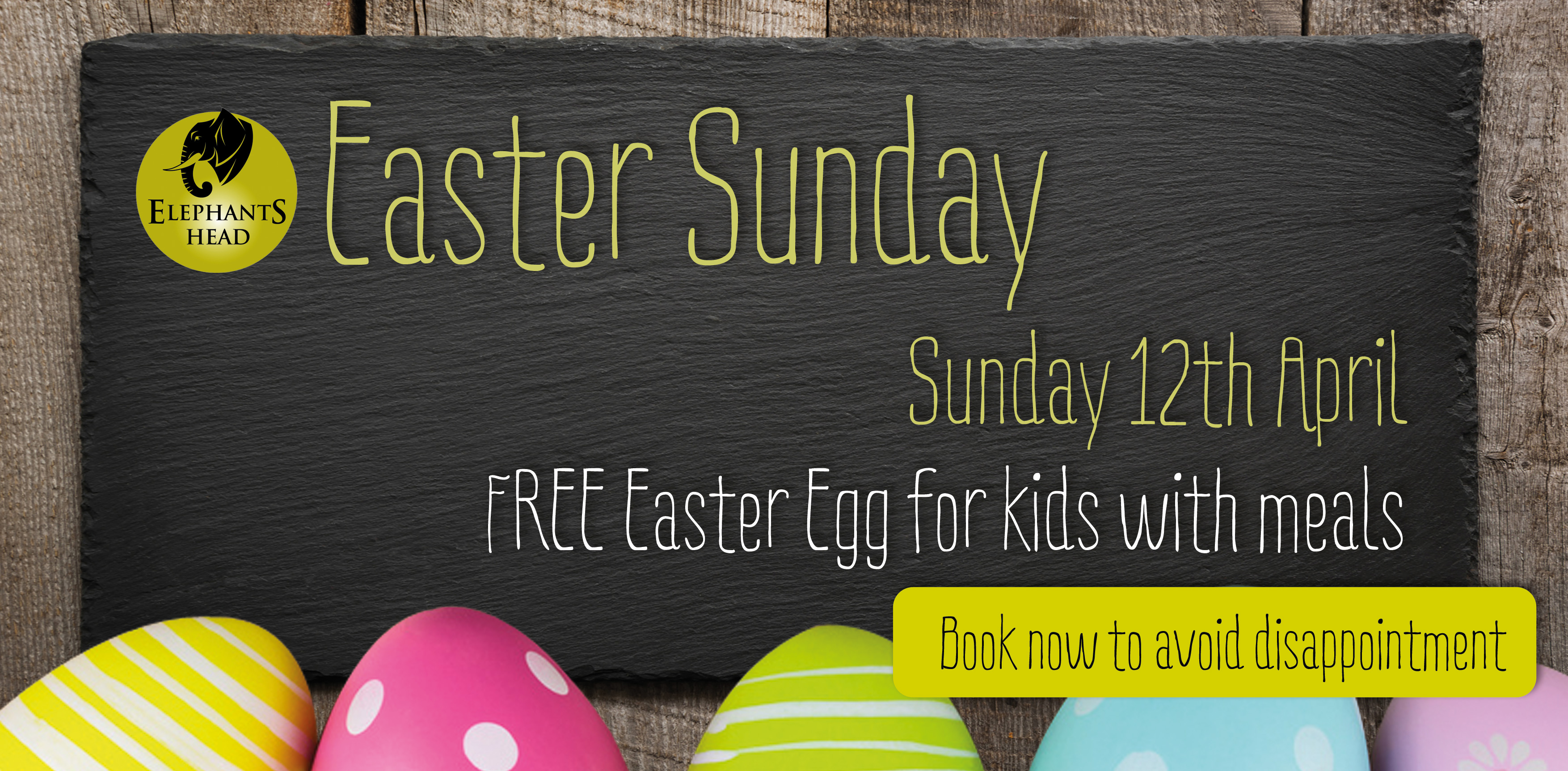Easter Sunday at The Elephants Head