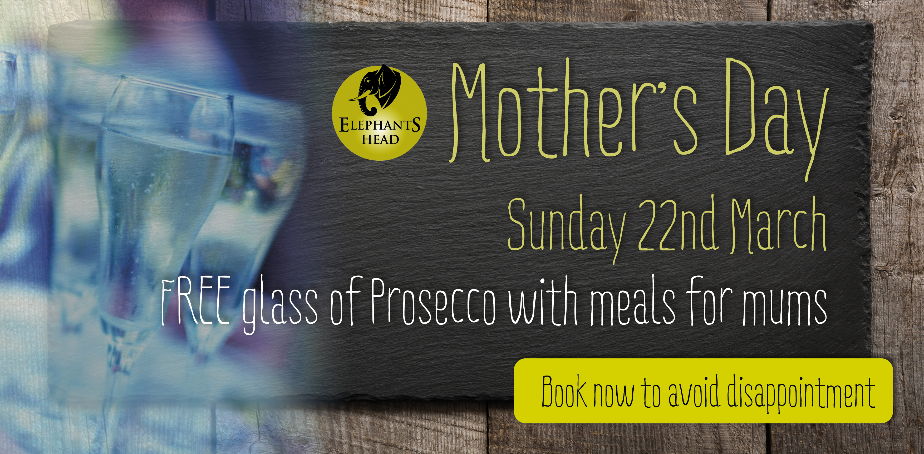 Mothers Day at The Elephants Head
